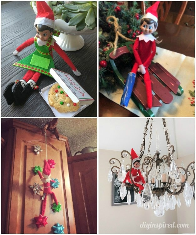 Clever and New Elf on the Shelf Ideas - DIY Inspired