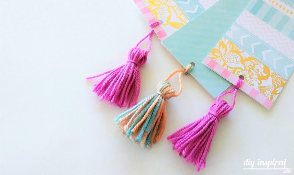 DIY Bookmark Tassles