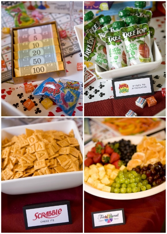 Game Night Food Ideas - DIY Inspired