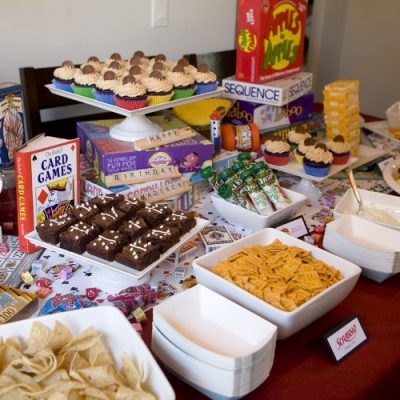 Game Night Ideas for a Birthday Party