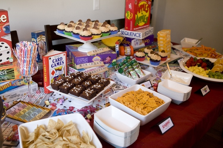 Game Night Ideas For A Birthday Party Diy Inspired