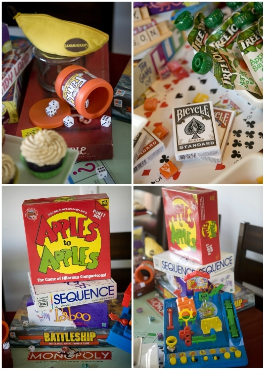 Game Night Ideas for a Birthday Party - DIY Inspired