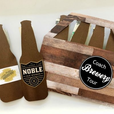 DIY Brewery Tour Gift for Coach or Dad