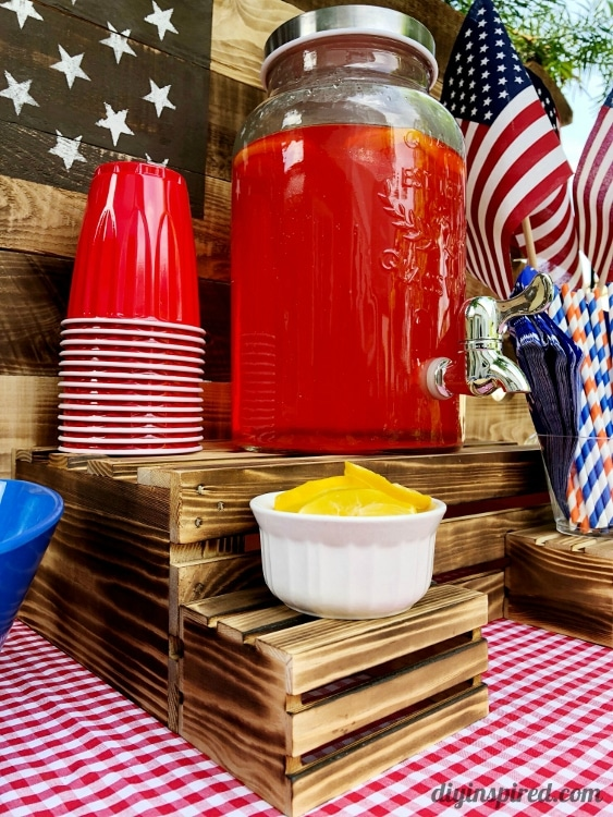 How to Make a DIY Drink Station for a Party