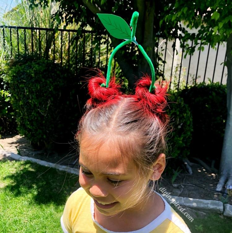 Crazy Hair Day Cherries Diy Inspired