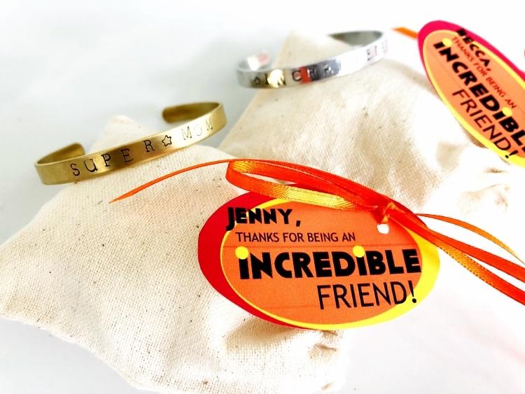 Stamped Metal Bracelets