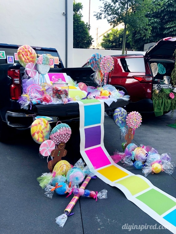 Candyland Trunk or Treat Idea