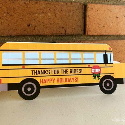 School Bus Driver Card