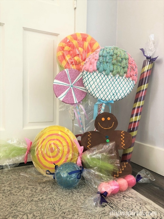 DIY Giant Candy Ideas