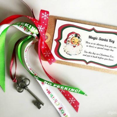 Free Printable Magic Santa Key