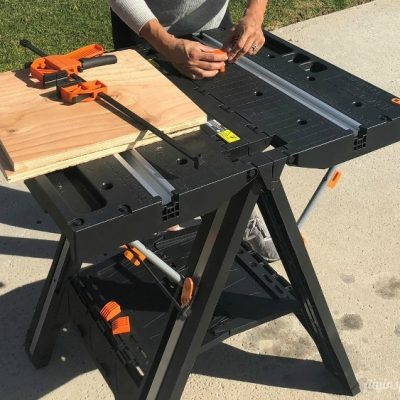 WORX Pegasus Folding Work Table and Sawhorse