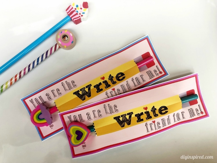 You are the Write friend for me Valentine printable
