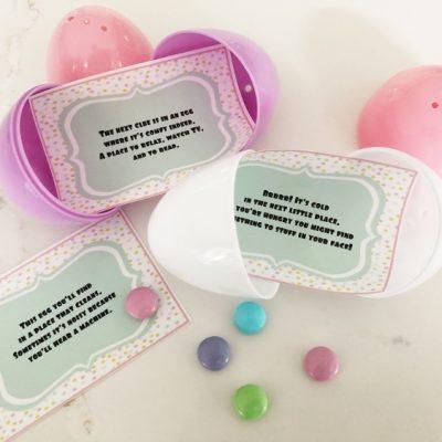 Easter Basket Egg Hunt