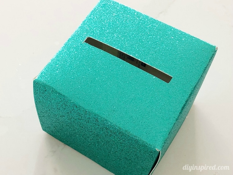 DIY Pop Out Money Gift Box Lid