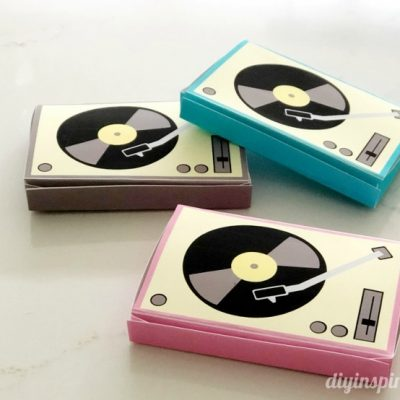 Paper Record Player Printable