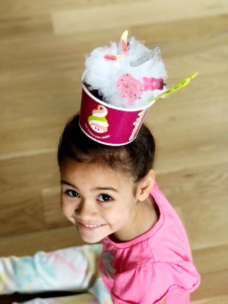 Crazy Hair Day Yogurt Cup