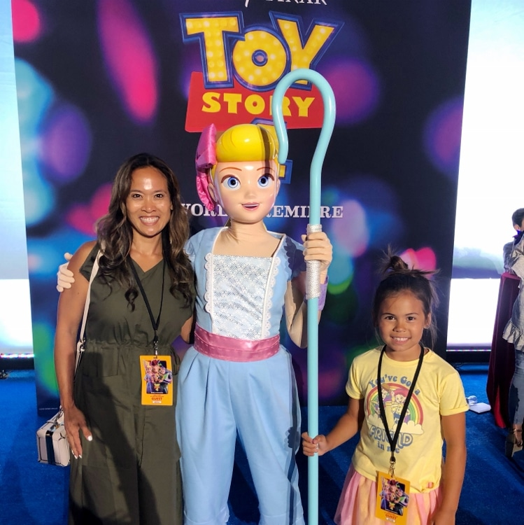 Dinah Wulf and Bo Peep Toy Story 4