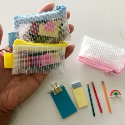 Dollar Store DIY Doll School Supplies