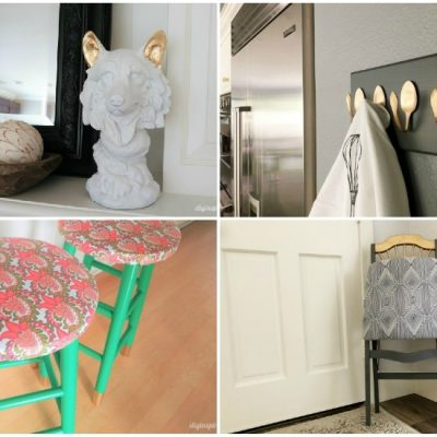 4 Thrift Store Upcycling Ideas