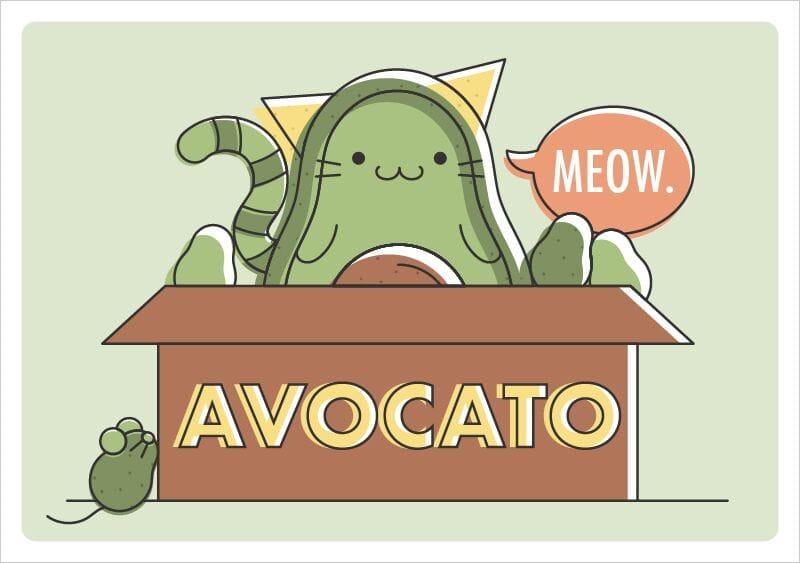 Avocato - Guacamole Printable