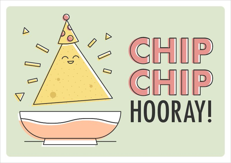 Chip Chip Hooray - Cinco de Mayo Printable
