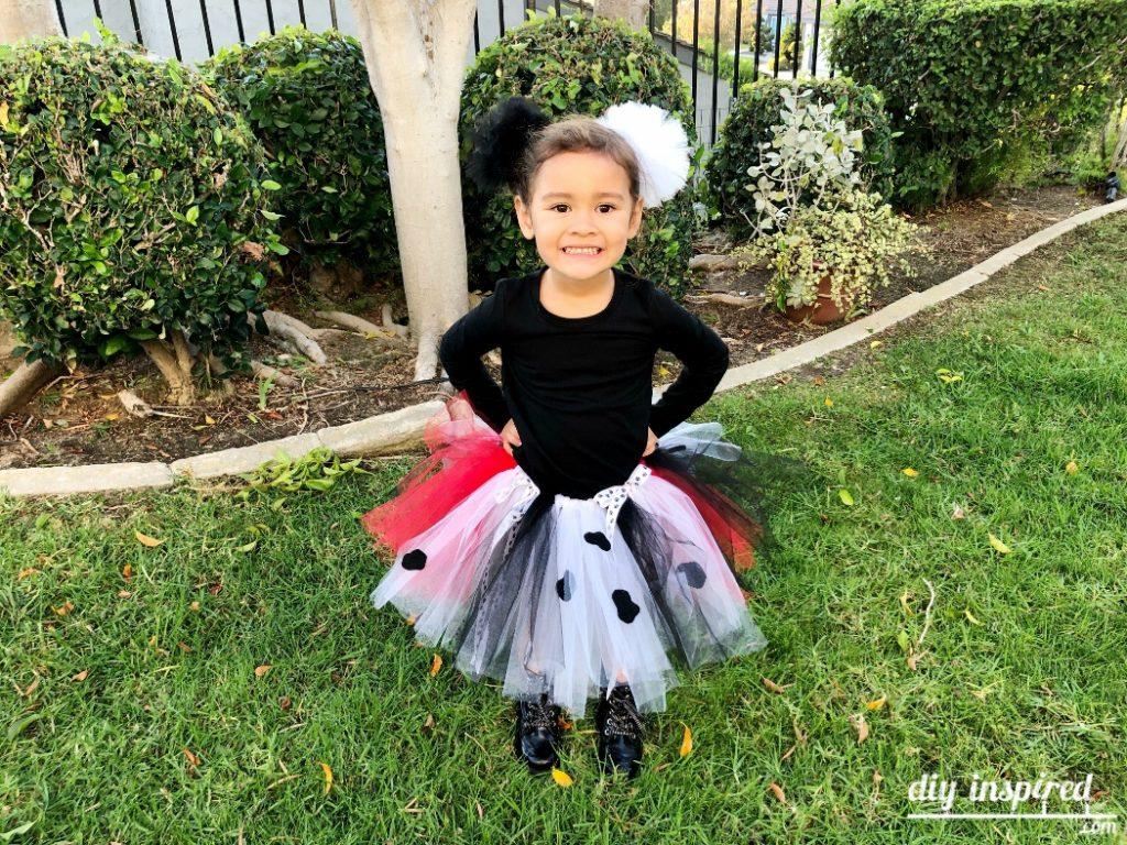 Cruella de Vil DIY Costume Idea