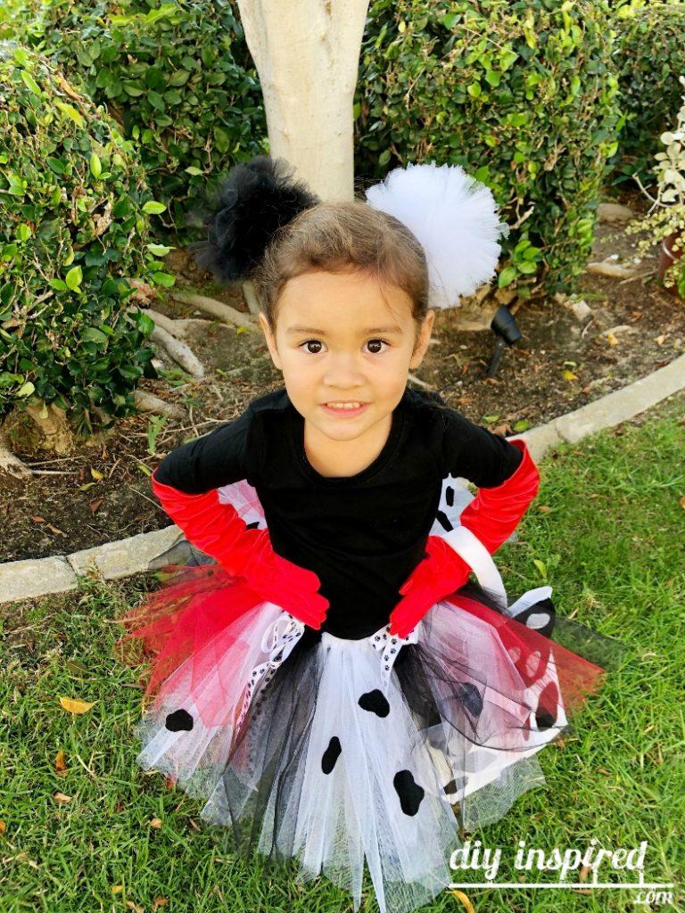 Cruella de Vil Easy Halloween Costume