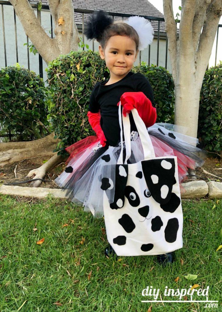 Cruella de Vil Kids Costume DIY Idea