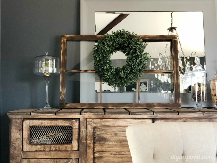 How to Make and Patina a Farmhouse Window
