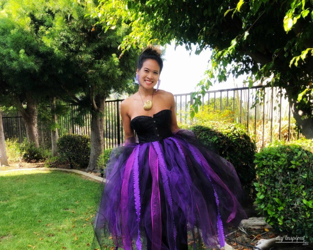 DIY Ursula Costume