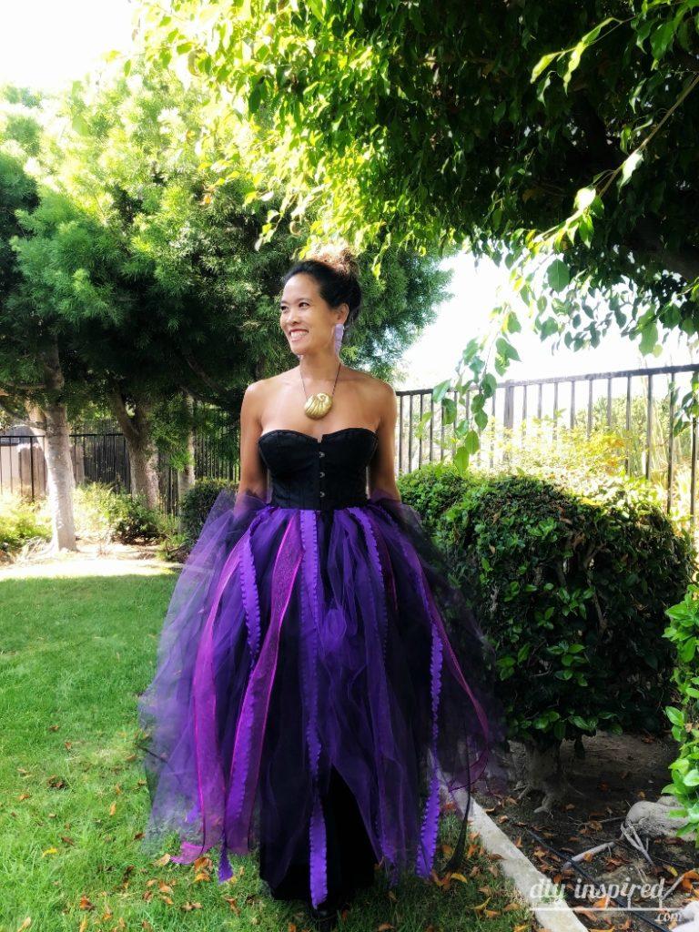 DIY Ursula Halloween Costume