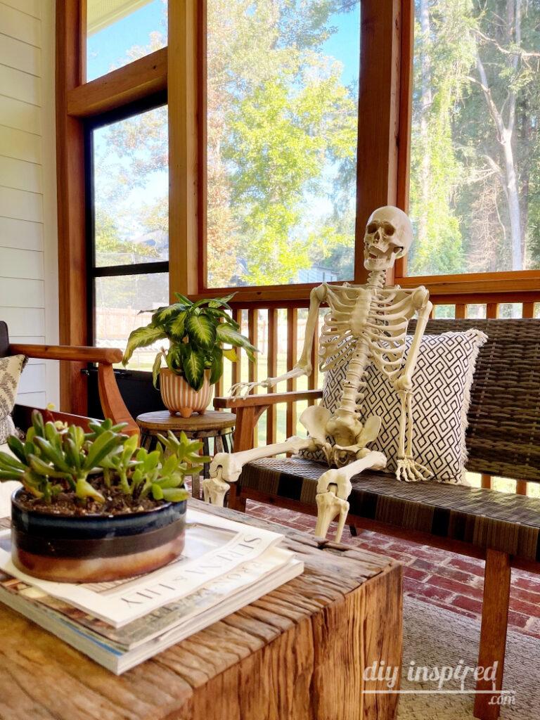 Halloween Skeletons Decorating Ideas