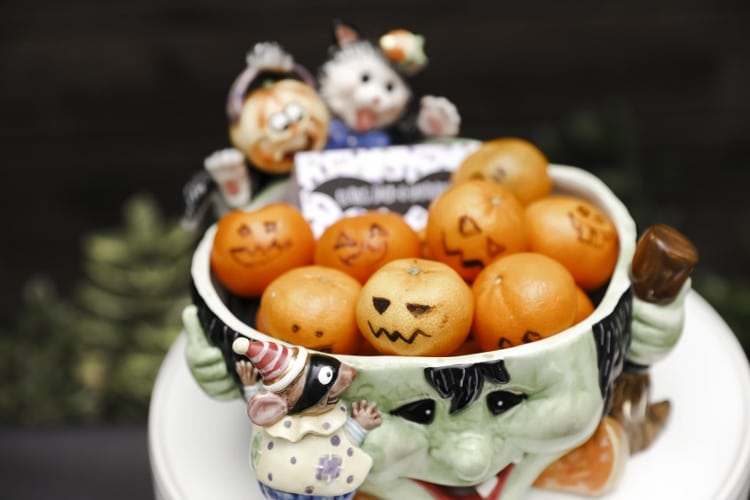 Pumpkin Cuties Halloween Snack