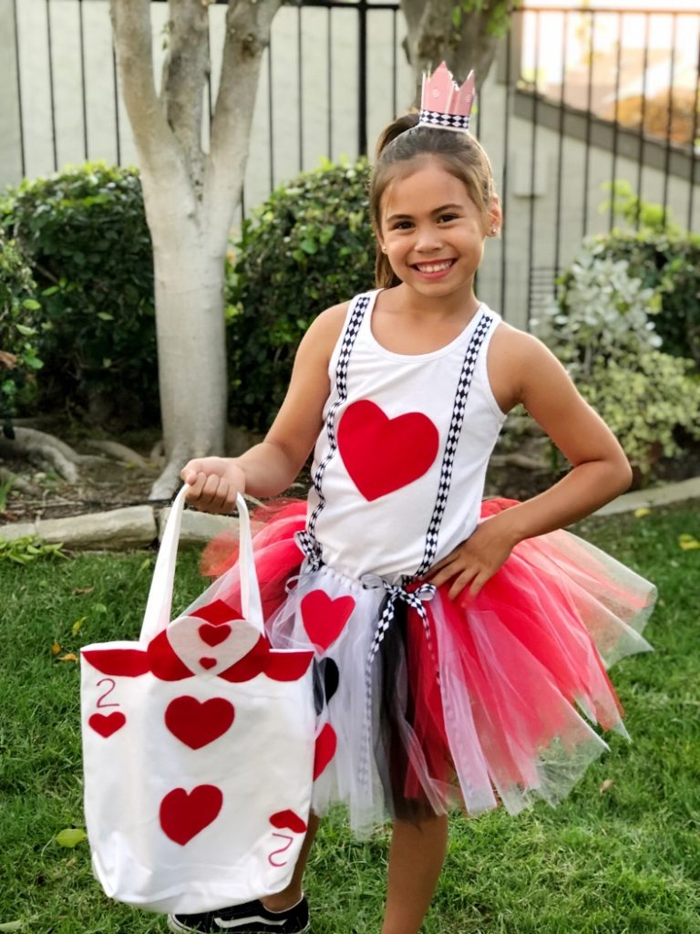 Queen of Hearts Trick or Treat Bag