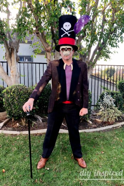DIY Dr. Facilier Halloween Costume