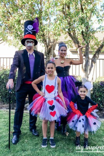 Disney Villain Family Halloween Costumes