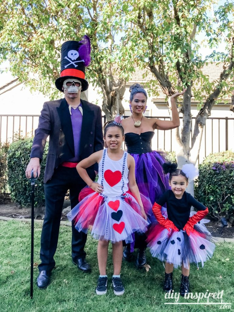 Disney Villain Family Halloween Costumes