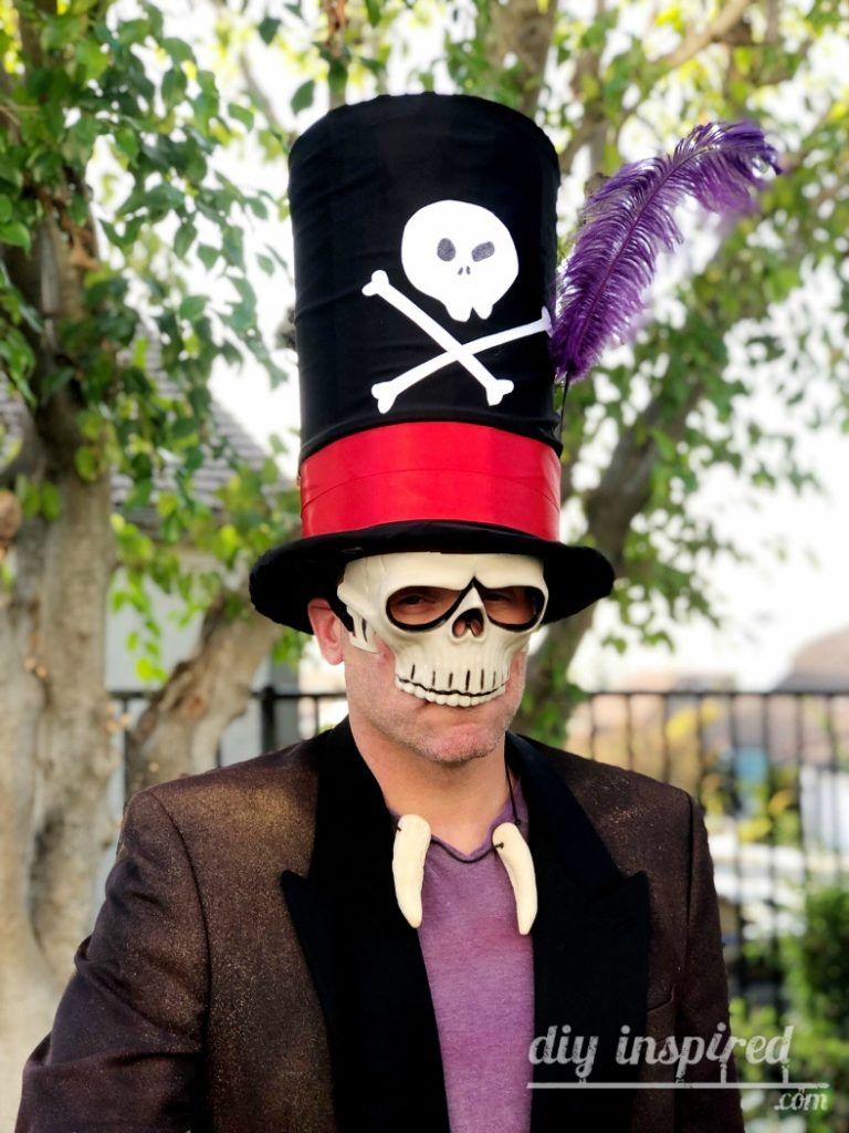 Dr. Facilier DIY Cardboard Top Hat