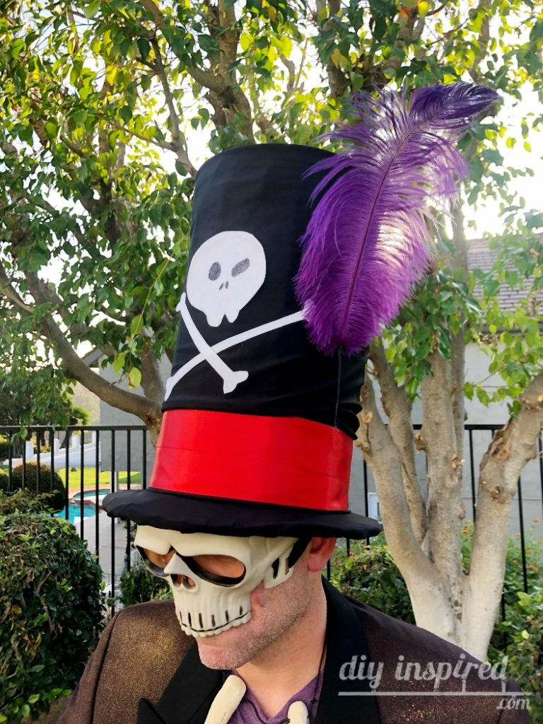 Dr. Facilier Hat for Halloween DIY
