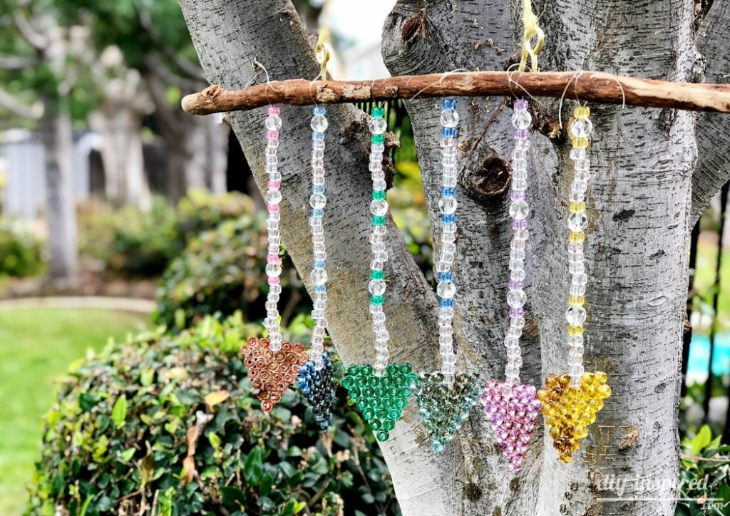 Torched Bead Sun Catcher