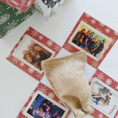 DIY Paper Pop Out Photo Gift Box