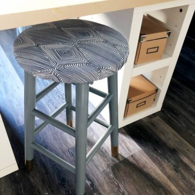 Super Easy Upcycled Stool DIY Tutorials