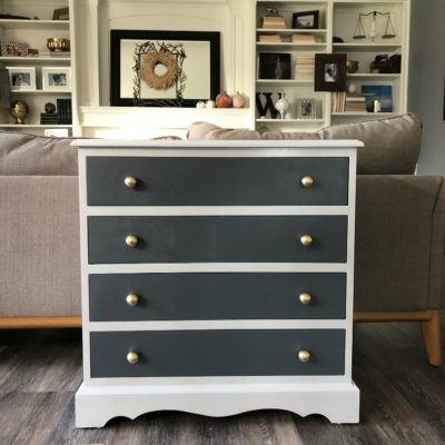 How to Make Over a Dresser for FREE