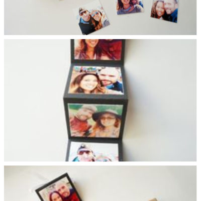 DIY Accordion Photo Card in a Box