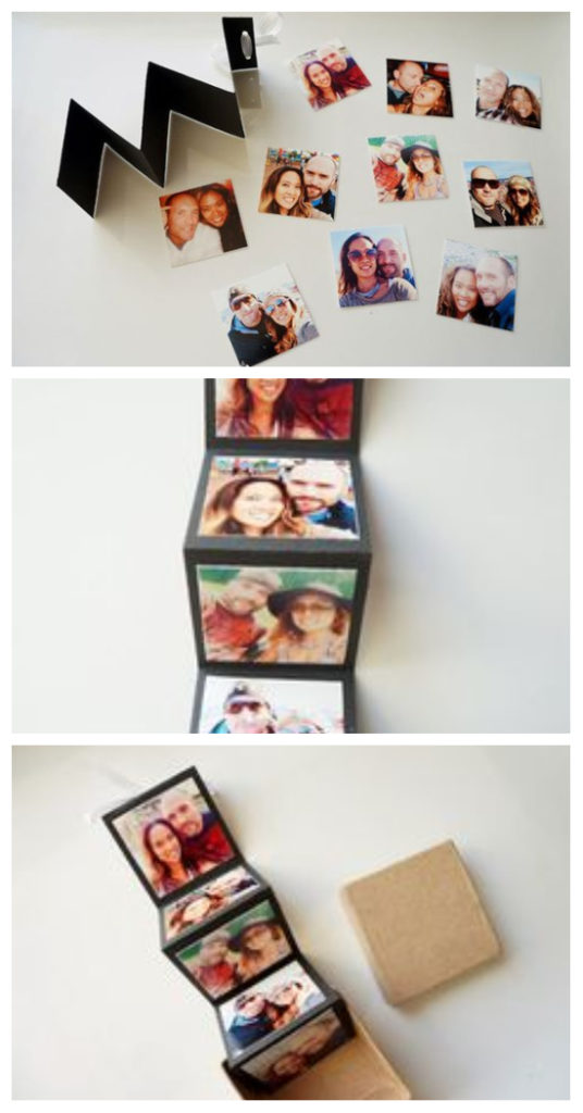 DIY Accordion Photo Card in a Box