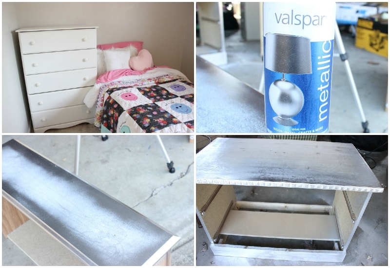 Prime + Spray paint or Chalky Paint your Furniture