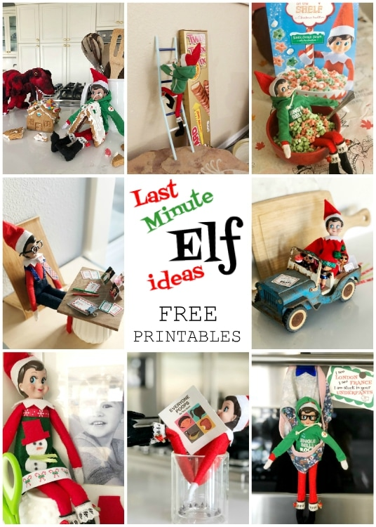Elf Shenanigans - with free printables