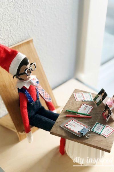 Elf on the Shelf Desk Printable
