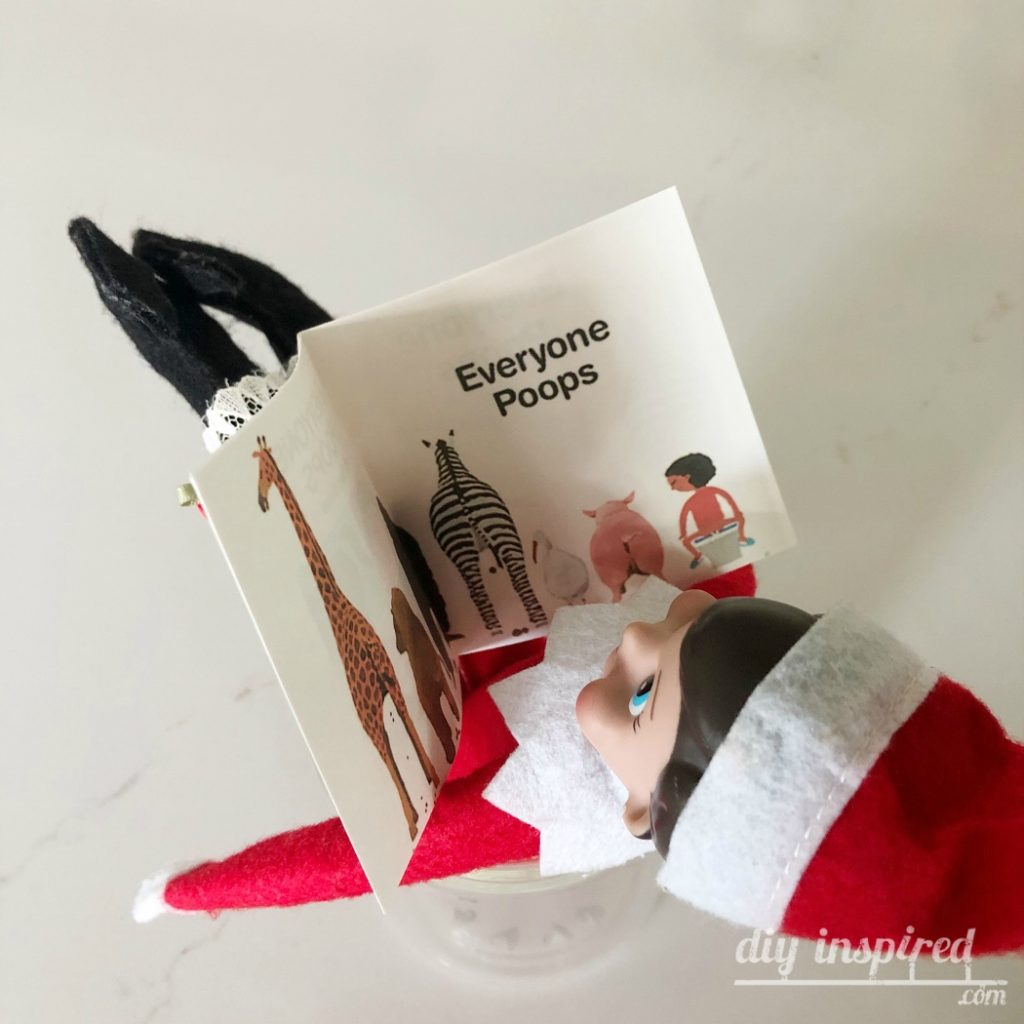Everyone Poops Elf on the Shelf