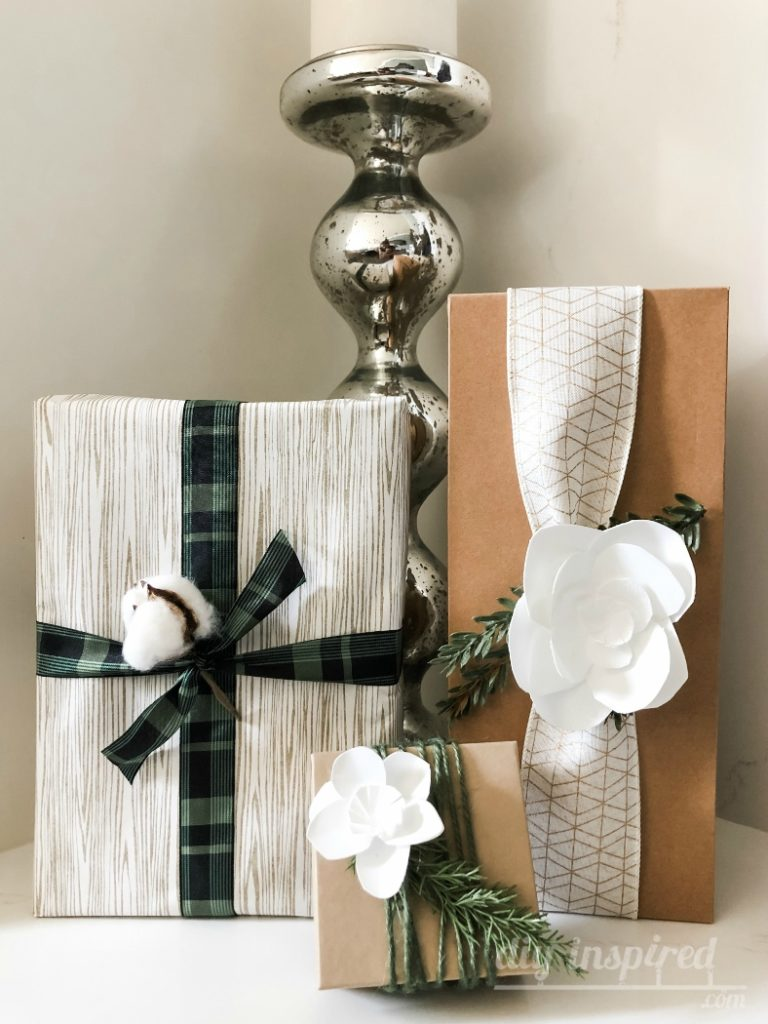 Recycled Gift Wrapping Idea